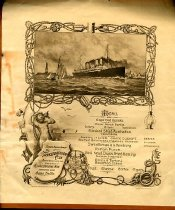 Image of Seventh Annual Dinner of The Transportation Club Menu