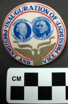 Image of Truman and Barkley Inauguration button