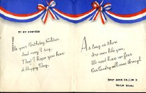 Image of Birthday card for nephew in military service