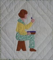 Image of A Picture Book quilt (Tom Thumb)