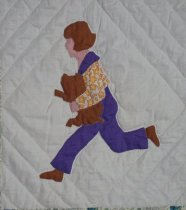 Image of Picture Book Quilt from Anne Orr pattern