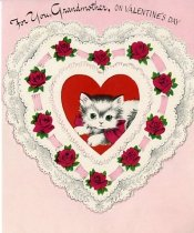 Image of For you, Grandmother, on Valentine's Day [card] -