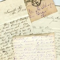 "Image of Papers - Taliaferro, Elizabeth ""Betsy"" (Williamson, 1800-1850"