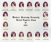 Image of WKU Dental Class of 1974 - Unknown