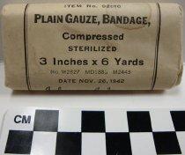 Image of KM2012.32.29 - Plain Gauze Bandage