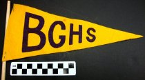 Image of KM2012.24.3 - Bowling Green High School pennant