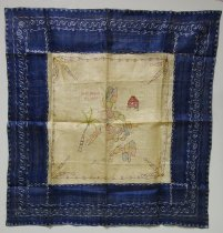 Image of KM2012.49.3 - World War textile souvenirs from the Philippine Islands