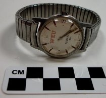 Image of KM2012.50.1 - WKU football wristwatch