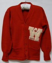 Image of KM2012.50.2 - WKU football manager's letter sweater