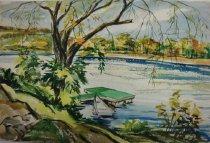 Image of Dorothy Grider watercolor