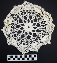 Image of KM2012.53.6 - Crochet doily