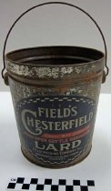 Image of Chesterfield lard can - Can, Lard