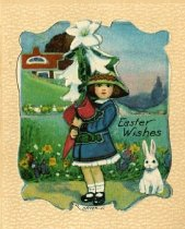 Image of Easter Wishes [greeting card] -