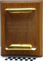 Image of Plaque presented to Frank Chelf - Plaque, Award