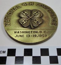 Image of 1971.1.21 - Commemorative National 4-H Conference medal