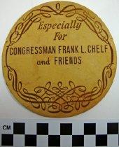 Image of 1971.1.25 - Coaster