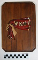 """Image of """"Red Towel"""" plaque - Commemorative"""