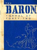 Image of Barons Dance Card -