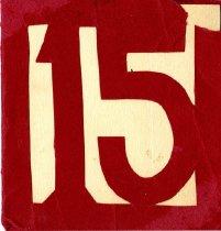 Image of 15'er Dance Card -
