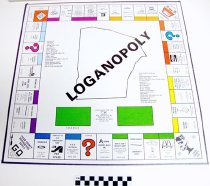 Image of KM2013.19.3 - Loganopoly board game