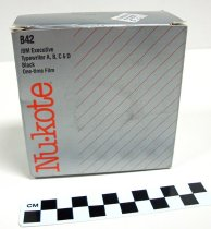 Image of KM2013.2.3 - Box of Nu·kote typewriter ribbon