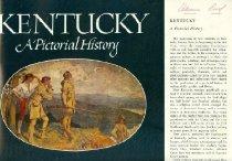 Image of Kentucky History Book Jacket -
