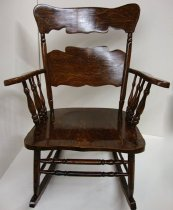 Image of KM2012.55.1 - Rocking chair
