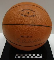"""Image of 2005.5.1 - Basketball signed by E. A. """"Ed"""" Diddle"""