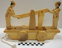 Image of KM2012.55.14 - Wooden hand car toy