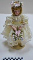 Image of KM2013.25.1c - Princess Diana's Flower Girl doll