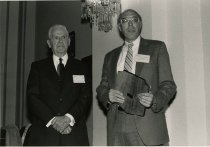 Image of Donald Zacharias with William Natcher - Unknown