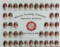 Image of WKU College of Nursing 1985 - Unknown