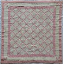 Image of Nine Patch Irish Chain Quilt - Quilt, Bed