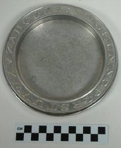 Image of KM2013.22.17 - Child's ABC plate