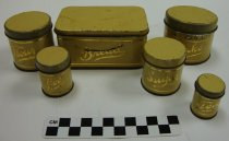 Image of KM2013.22.21 - Miniature canister set