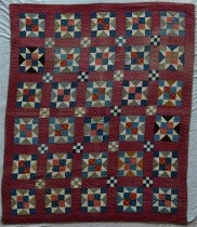 Image of KM2013.38.1 - Pieced Quilt