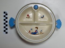 Image of KM2013.42.2 - Child's insulated ceramic dish