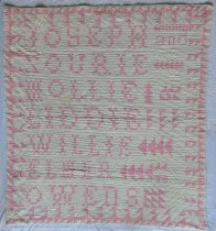 Image of 1995.46.1 - Zourie Owens quilt
