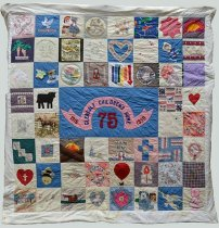 Image of KM2013.43.2 - Glendale Children's Home 75th Anniversary Quilt