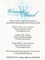 Image of Women's Fund of South Central Kentucky [invitation] -