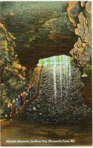 Image of Historic Entrance to Mammoth Cave -