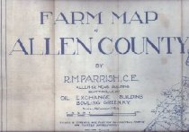 Image of Farm Map of Allen County -