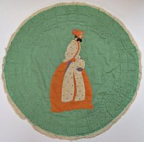 Image of 1990.6.2 - Godey Quilt Block