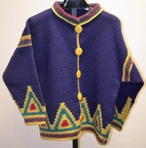 Image of KM2013.54.2 - Hand-knitted cardigan