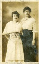 Image of Marie Roberts and Marie Green -