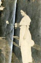 Image of Dress with Peplum