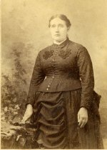 Image of Large Woman in Dark Dress - Shartle