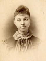 Image of Woman with Lace Collar -