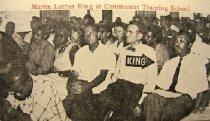 Image of Martin Luther King at Communist Training School -
