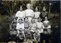 Image of Mattie Newman & Students - Unknown